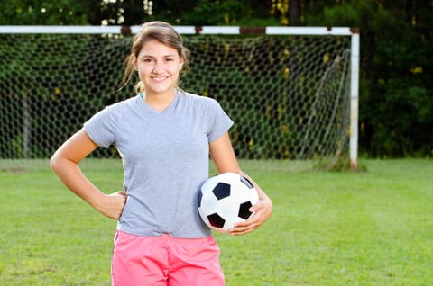 Young Female Soccer Players in Middle School At-Risk for Concussions