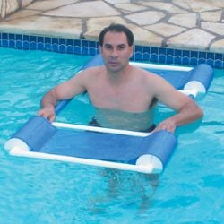 Aqua Floatation Aid Provides Support for Children, Adults During Aquatic Therapy