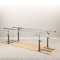 Parallel Bars Aid in Post-Injury Recovery