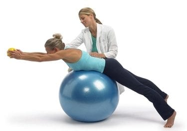 Tear-Resistant Exercise Ball Aids in Injury Prevention