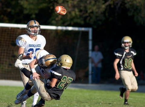 Heat, Dehydration Risk Factors for Concussion Among Football Players