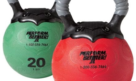 Device Combines Kettlebell and Medicine Ball for Fitness
