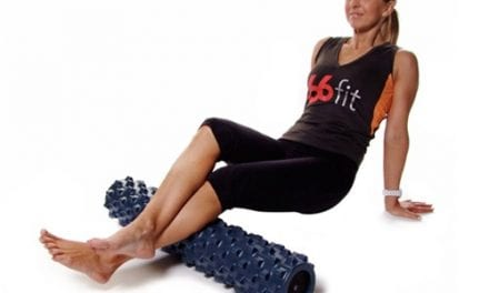 Foam Roller Aids in Relief from Muscle Pain, Tightness