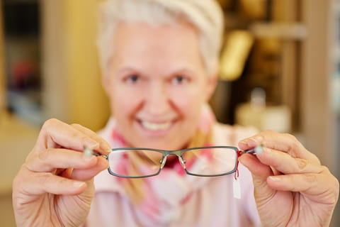 New Glasses May Increase Fall Risk for Older Adults