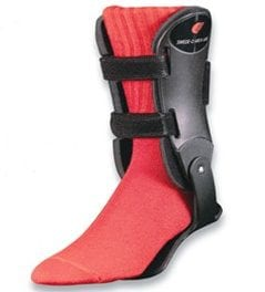 Ankle Brace Features Orthotic Footplate for Support