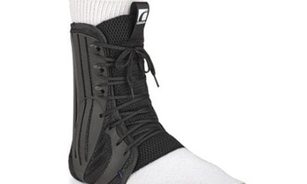 Form Fit Ankle Brace Design Aims to Provide Compression