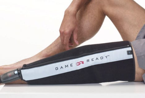 Knee Wrap Delivers Cold Therapy, Pneumatic Compression for Rehabilitation