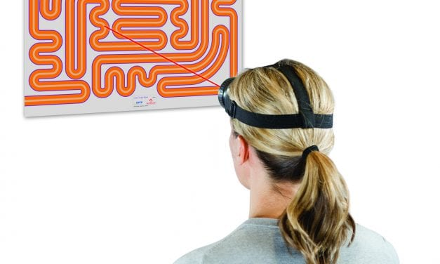 Laser System Offers Visual Feedback for Sensory Motor Control