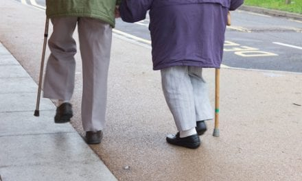 Older Adults Walking Out of Necessity Have an Increased Risk of Falls