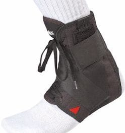 Soft Ankle Brace Offers Tape-Like Support