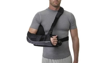 Arm Sling Allows for Immobilization, Rotation