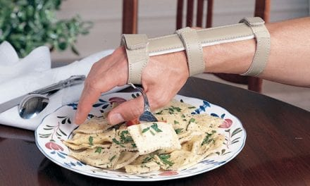 Hand Cuff Offers Wrist Support for Users
