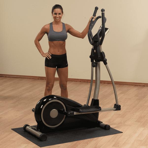 Elliptical Cross Trainer Provides a Nonimpact Cardio Workout