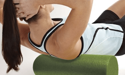Foam Roller Designed to Loosen Stiff Muscles, Relieve Tension