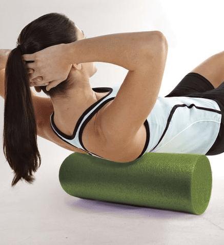 Foam Roller Designed to Loosen Stiff Muscles, Relieve Tension