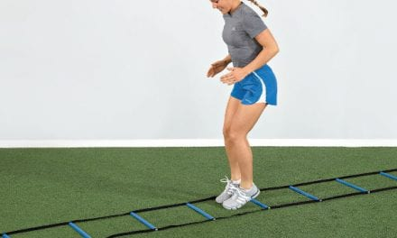 Agility Ladder Designed to Improve Coordination, Balance