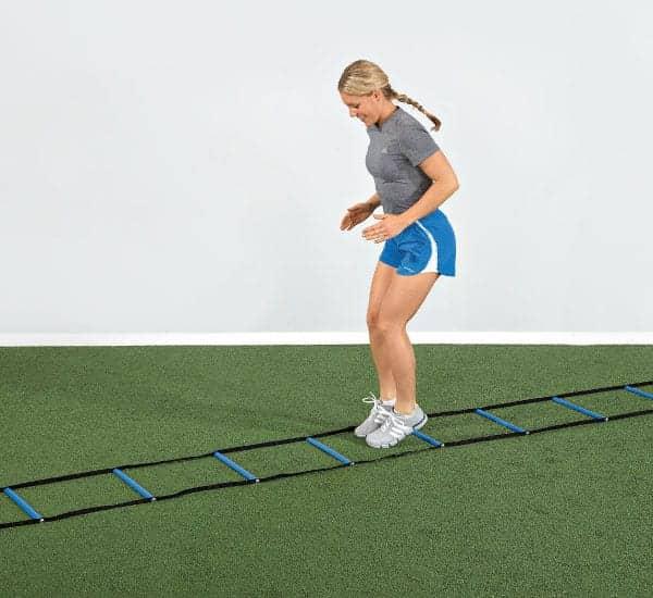 Agility Ladder Designed to Improve Coordination, Balance