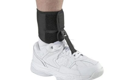 Foot-Up AFO Features Cushioned Ankle Wrap for Comfort