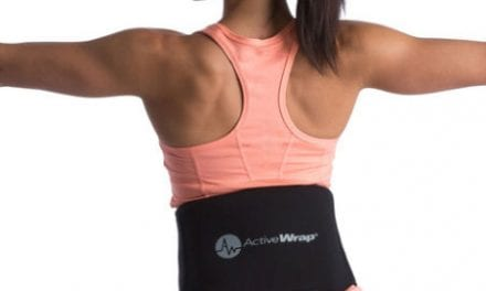 Back Heat/Ice Wrap Aims to Offer Users Comfort and Adjustability