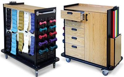 """Equipment Cart Offers Users """"Mobilized Therapy"""" and Storage"""