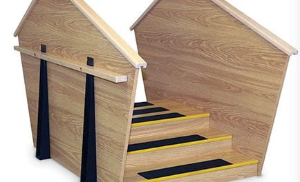 ADA Two-Sided Staircase Design Targets Bariatric Patients