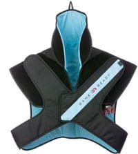 Cervical-Thoracic Spine Wrap Incorporates Cold and Compression Therapy