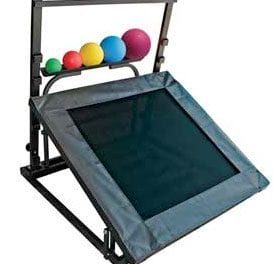 Plyometric Rebounder Seeks to Serve as a Stable Platform for Throwing, Jogging, Agility, and Balance