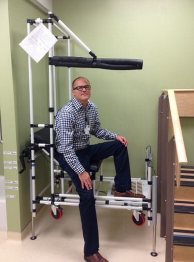 """""""Therapy Car"""" Aims to Prevent Falls Post-Hip and Knee Replacement"""