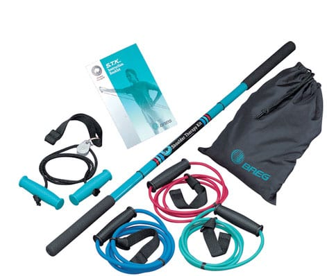 Shoulder Therapy Kit Allows for Clinic or Home Use