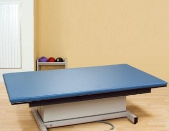 Hi-Lo Mat Platform Provides Removable Mat, Heavy Duty Lift Mechanism