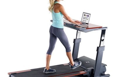 Desk Treadmill Allows Workers to Integrate Movement During Work Day