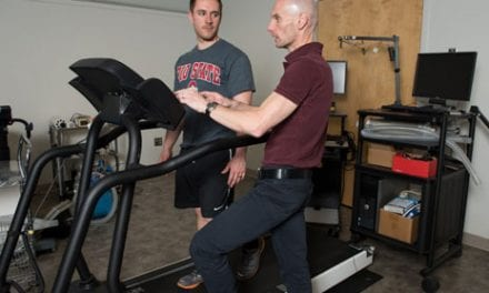 Treadmill Prototype Designed to Change Speed Automatically, Match Runner's Pace