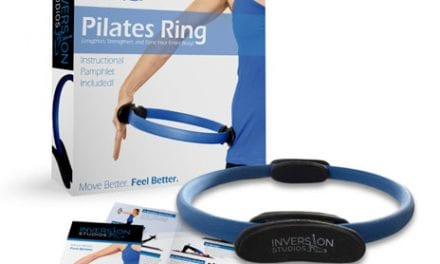 Pilates Ring Built to Provide Stability for Core Muscle Training