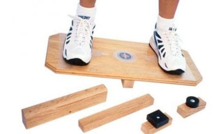 Balance Board Targets Balance Training at All Levels