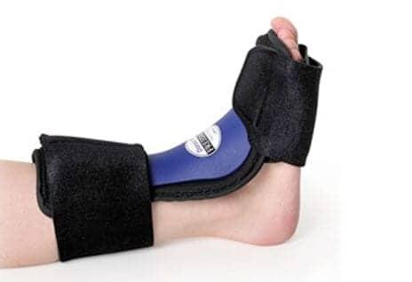 Dorsal Splint Designed for Nighttime Plantar Fasciitis Pain Relief