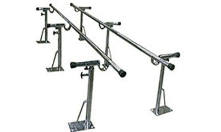 Adjustable Parallel Bars Built to Accommodate up to 500 Pounds