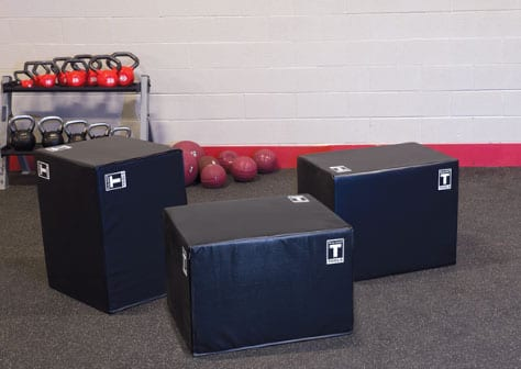 Plyometric Box Features Soft Sides, Aims to Minimize Injury
