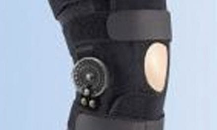 Brace Offers Knee Stabilization, Increased Control of Knee Joint