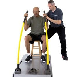 Core Stix Offers Variety of Exercises to Patients While Standing or Sitting