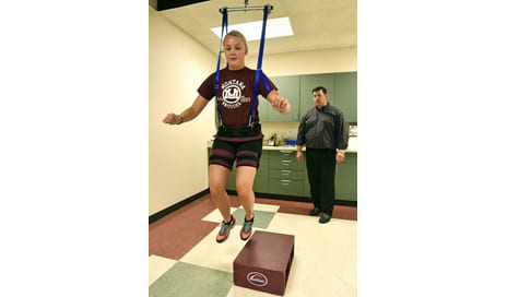 """Patent Pending for """"Bridge"""" Device Designed to Help Reduce Gravity for ACL Patients"""