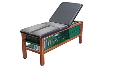Aluminum Tables Designed to Resist Water Damage Enable Therapy To Be Conducted Poolside
