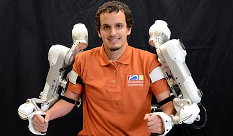 University of Texas Engineering Team Develops Robotic Arms Designed to Assist with PT