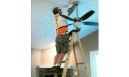 Neck Assist Enables Comfort When Working Overhead