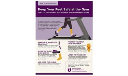 Make Keeping Your Feet Safe At the Gym Part of Your New Year's Resolutions
