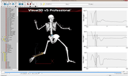 Xsens' MVN BIOMECH Now Available on C-Motion's Visual3D