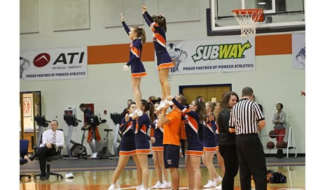 Concussion Tops the List of Cheerleader Injuries