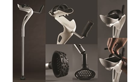 New M+D Crutch from Mobility Designed Evenly Distributes Body Weight