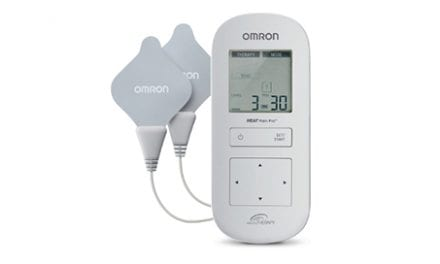 Omron HEAT Pain Pro Device Offers Combination of TENS with Heat