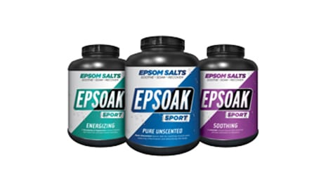 Epsoak Sport Features Epsom Salt for Post-Workout Muscle Recovery
