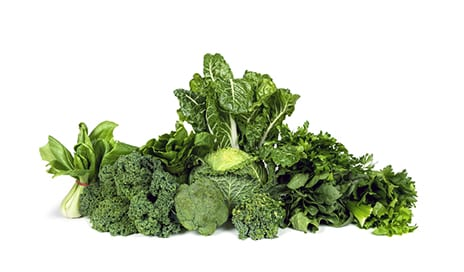 A Greens-Rich Diet Possibly Beneficial for Sports Performance